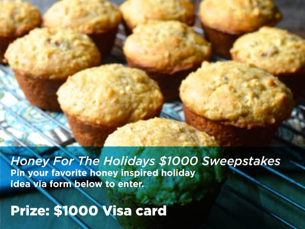 #HoneyForHolidays $1000 Sweepstakes