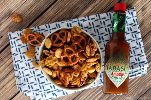 Maple Chipotle Snack Mix | Melanie Makes