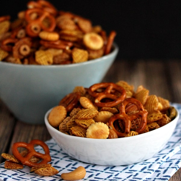 Maple Chipotle Snack Mix
