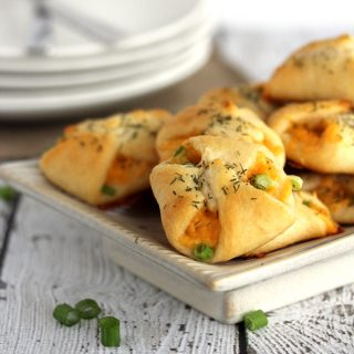 Mini Cheese and Onion Pastries | Melanie Makes