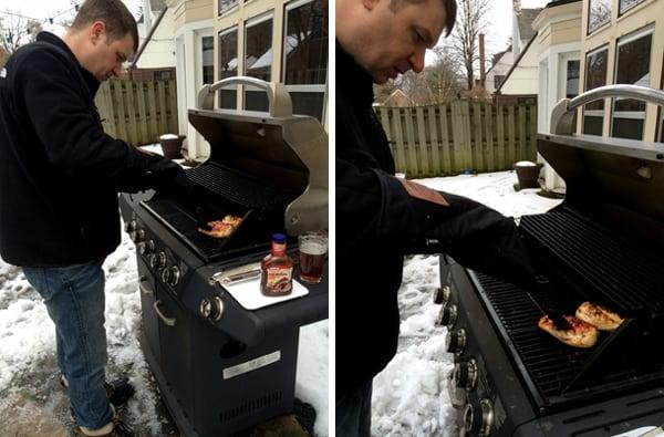 Barbecue Chicken Pizza Skillet Lasagna | Melanie Makes