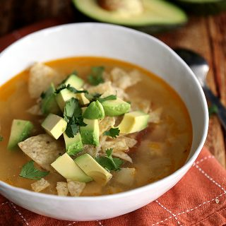 Chipotle Chicken Lime Soup | Melanie Makes