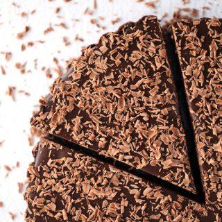 Brownie Batter Chocolate Tart | Melanie Makes