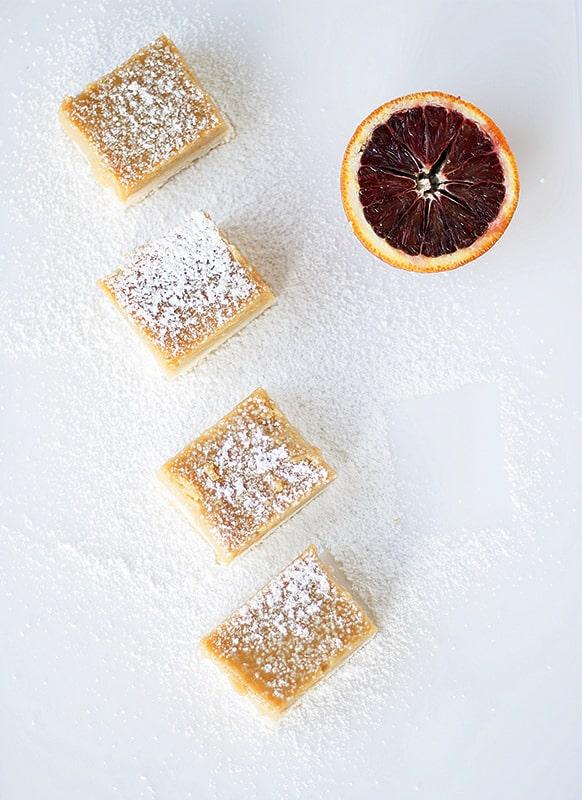 Blood Orange Bars | Heather's French Press for Melanie Makes