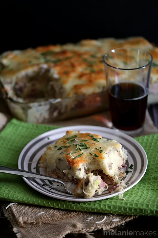 Best Reuben Casserole | Melanie Makes