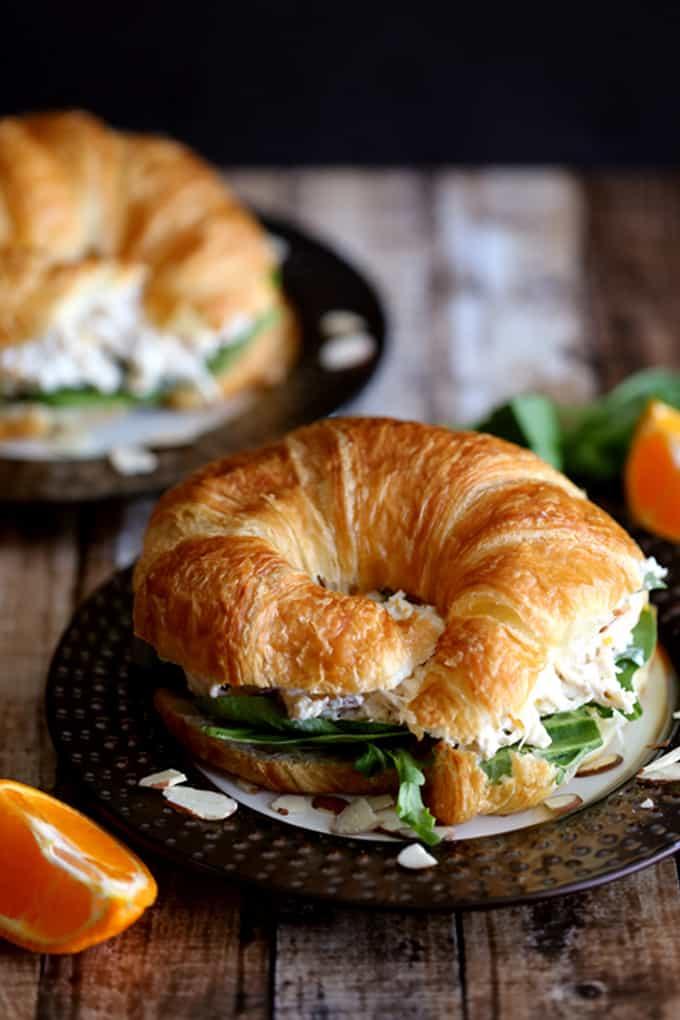 Mandarin Orange Chicken Salad | Melanie Makes