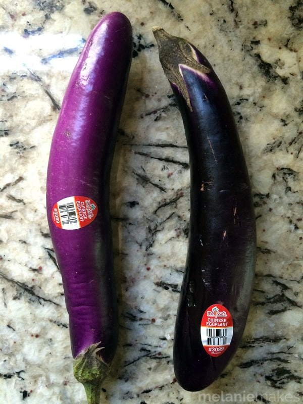 Garlic and Roasted Eggplant Hummus | Melanie Makes
