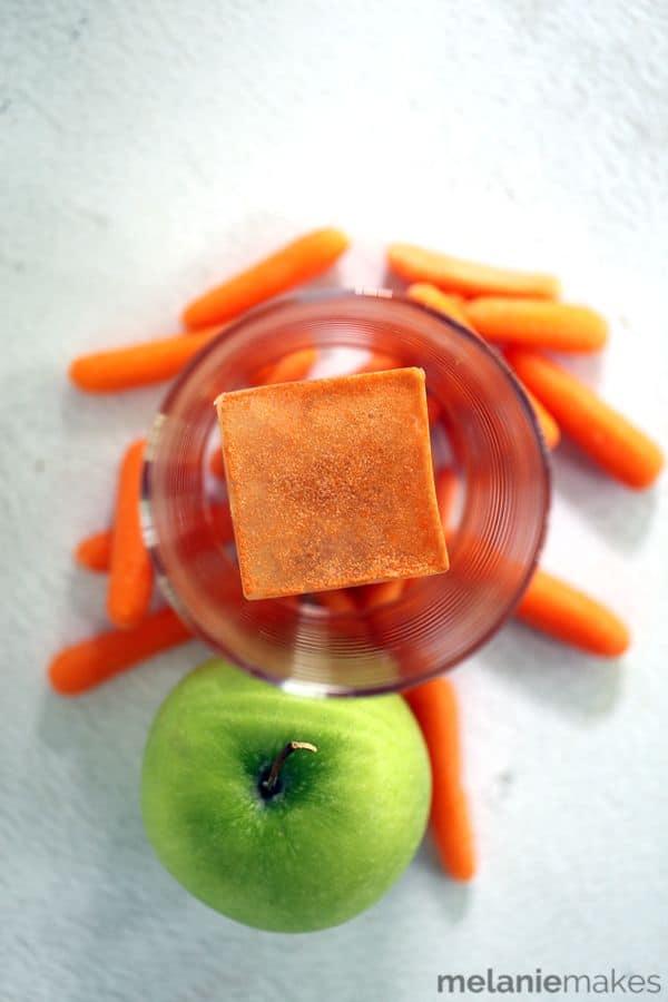 Juice Infused Ice Cubes | Melanie Makes