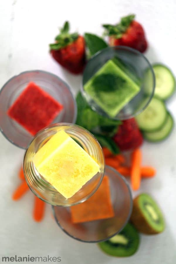 Juice Infused Ice Cubes | Melanie Makes