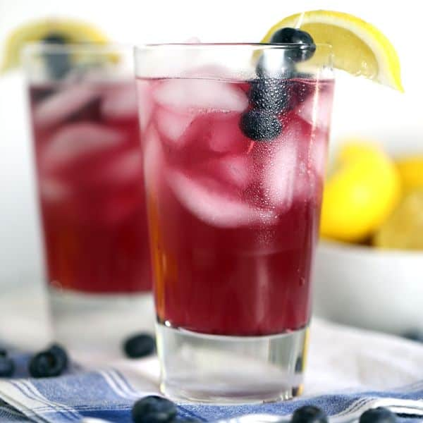 Blueberry Lemonade | Melanie Makes