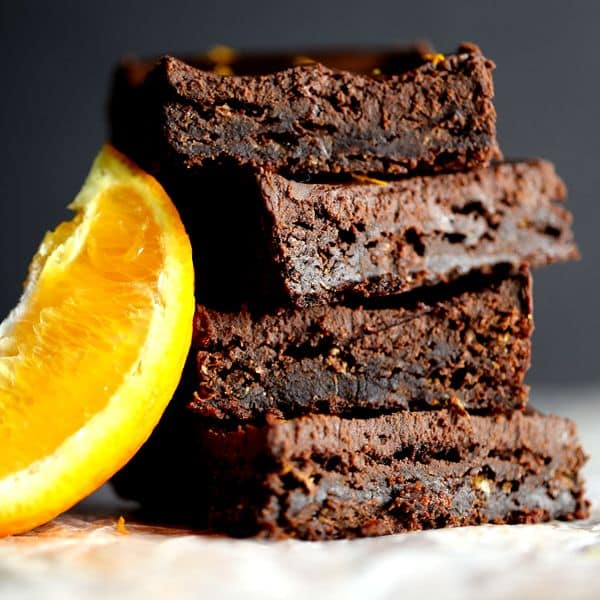 Chocolate Orange Brownies | Melanie Makes
