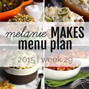 Melanie Makes Menu Plan 2015 – Week 29