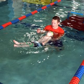 Review: Goldfish Swim School Jump Start Clinic | Melanie Makes