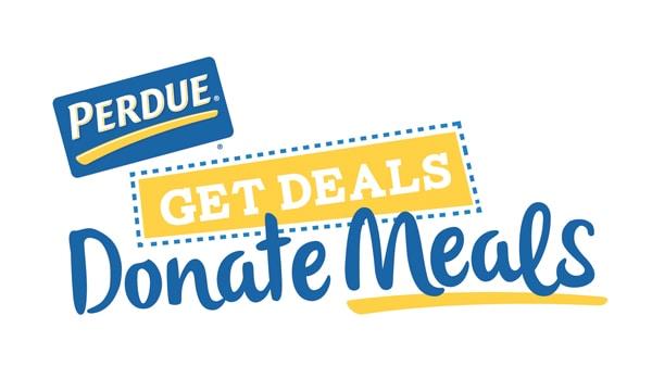 Perdue Geat Deals Donate Meals