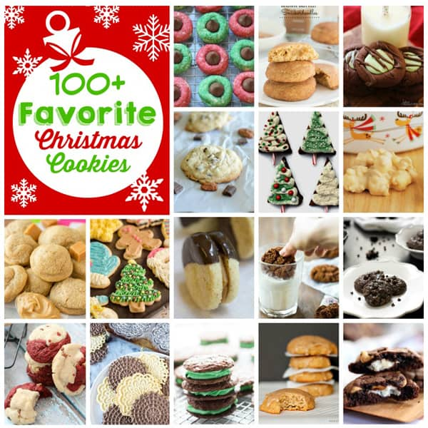 100+ Favorite Christmas Cookie Recipes