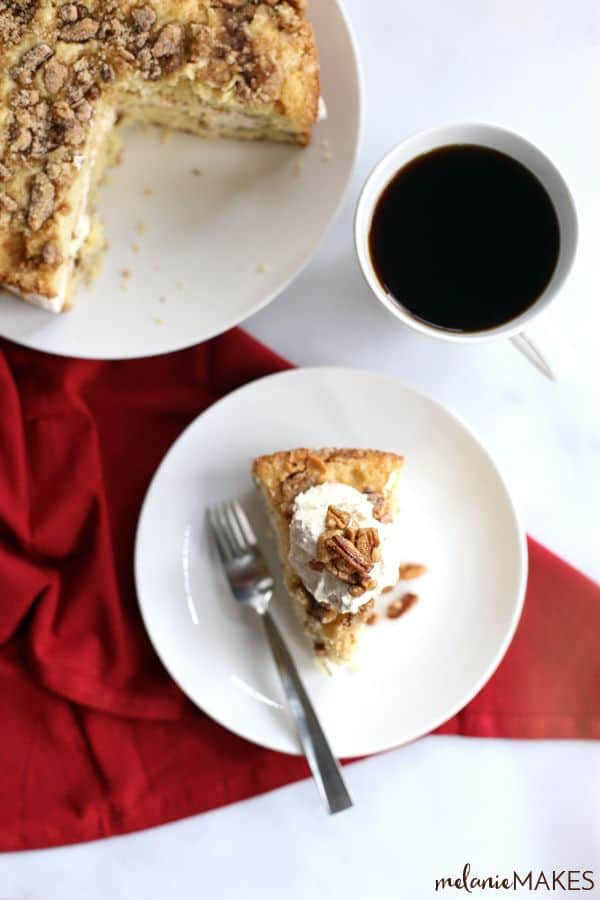How To Freeze Coffee Cake