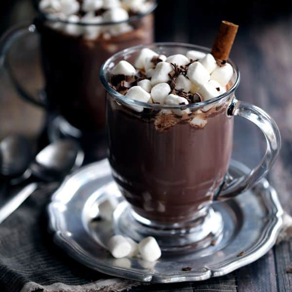 No Added Sugar Chai Dark Hot Chocolate