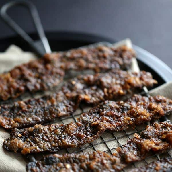 Slow Candied Bacon