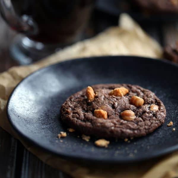 Mocha Caramel Butterfinger Cookies   Melanie Makes