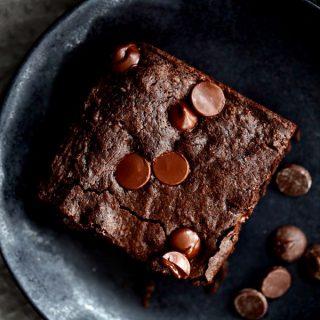One Bowl Chocolate Fudge Brownies | Melanie Makes