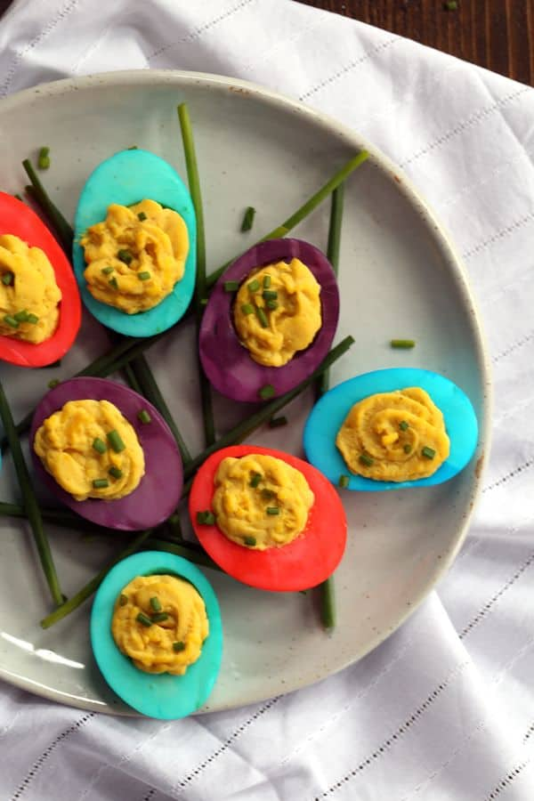 Dyed deviled eggs melanie makes these dyed deviled eggs are ready to become a part of your easter celebration hard forumfinder