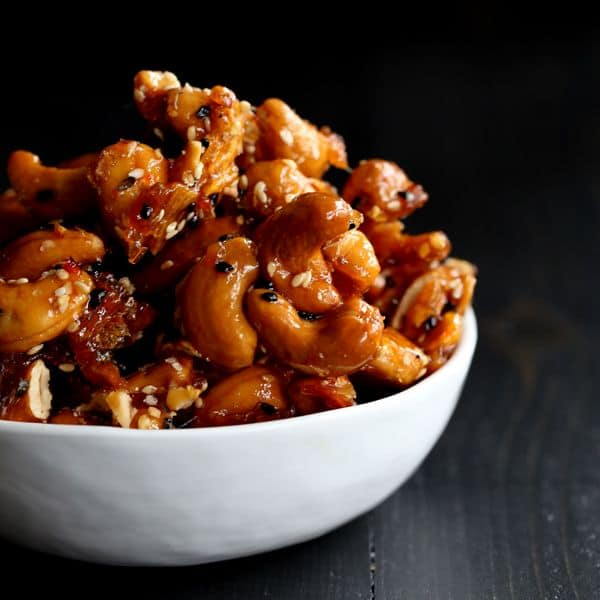 Thai Glazed Cashews | Melanie Makes