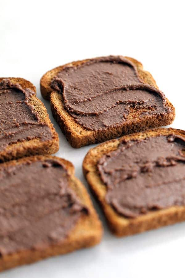 This three ingredient Dark Chocolate Hazelnut Spread will make your ...