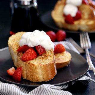 Vanilla French Toast | Melanie Makes
