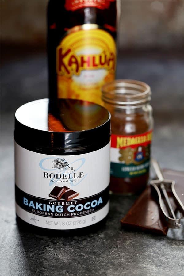 Chocolate Espresso Eggnog Bars   Melanie Makes