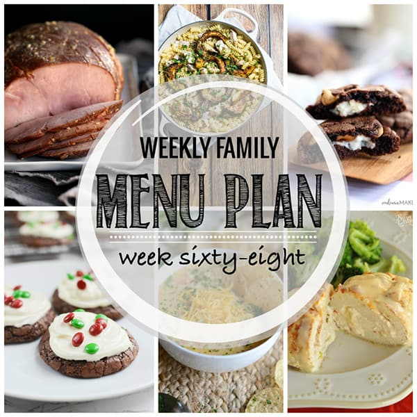 Weekly Family Meal Plan – Week 68