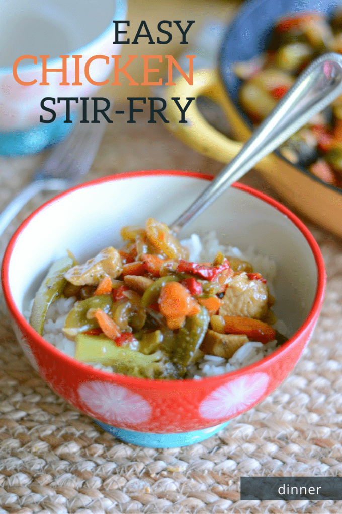 Easy Chicken Stir Fry Dinner