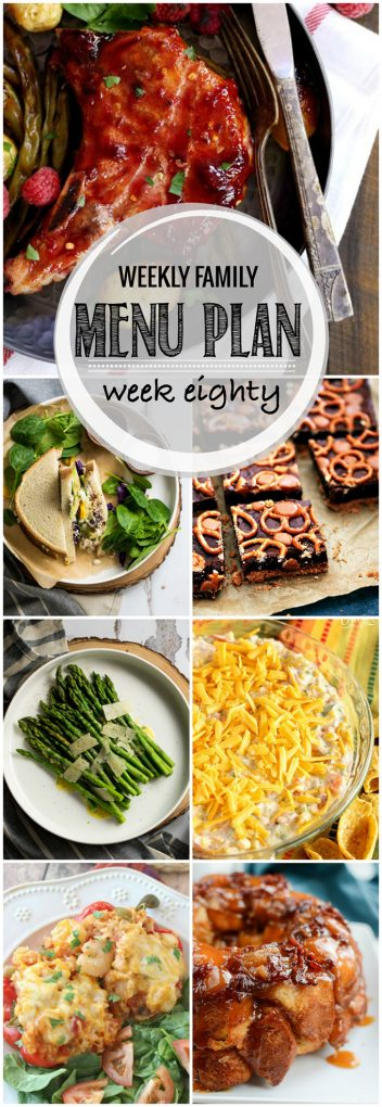 Weekly Family Meal Plan 79 | Melanie Makes