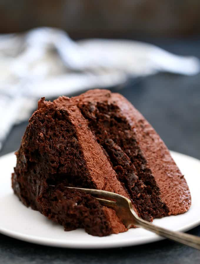 Chocolate Pudding Fudge Cake | Melanie Makes