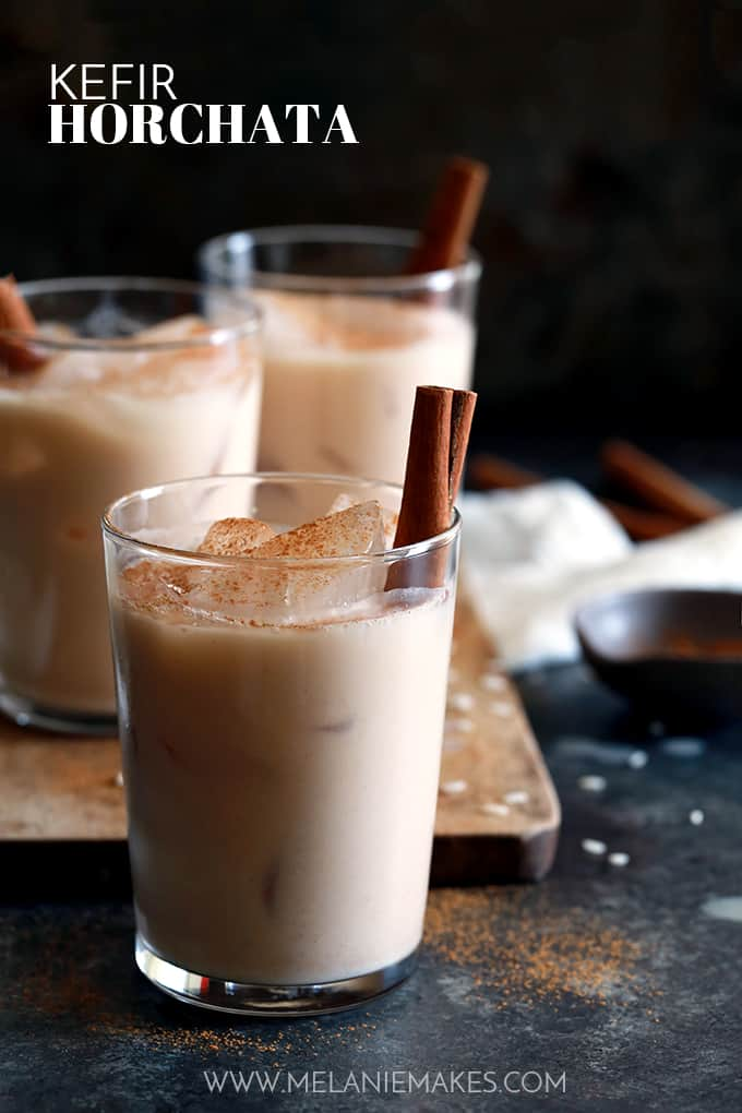 kefir. my kefir horchata is a refreshing spin on the traditional mexican drink made with rice,