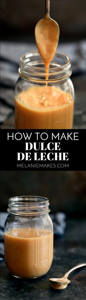 Learn how to make dulce de leche from sweetened condensed milk. With just one ingredient, you'll prepthis caramel colored confectionin just five minutes. #dulcedeleche #sweetenedcondensedmilk #howto #easyrecipe #caramel #desserts #easydesserts