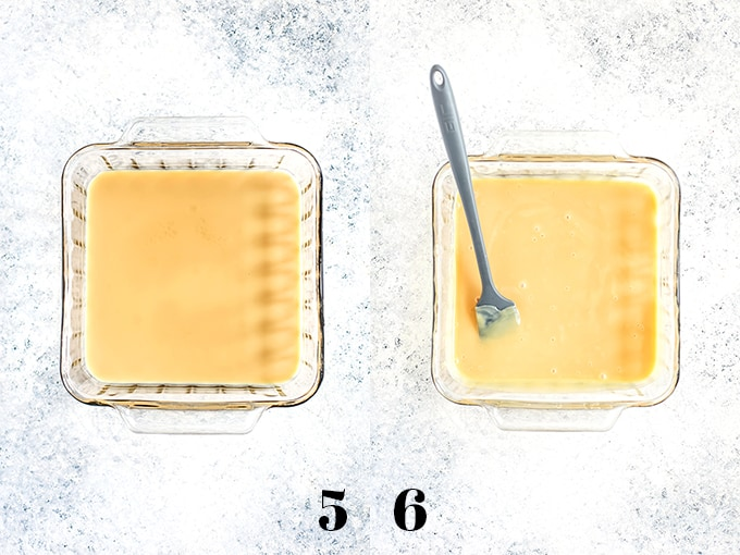 How to make dulce de leche from sweetened condensed milk, steps 5-6.