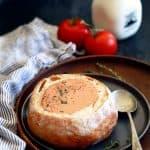 Creamy Tomato Bacon Soup | Melanie Makes