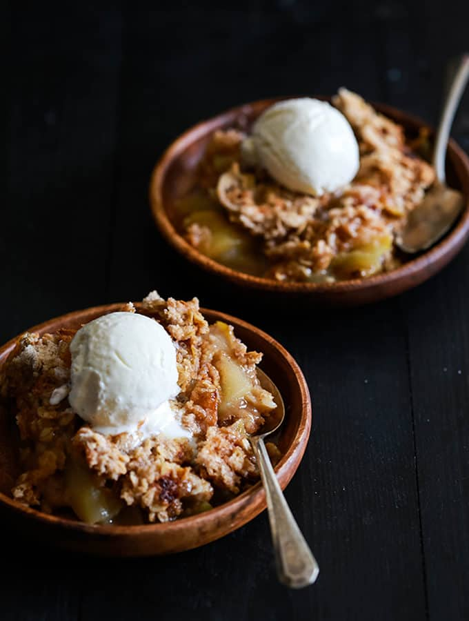 Snickerdoodle Apple Crisp | Melanie Makes
