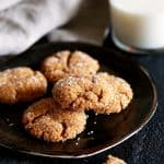 Soft and Chewy Pumpkin Ginger Cookies | Melanie Makes