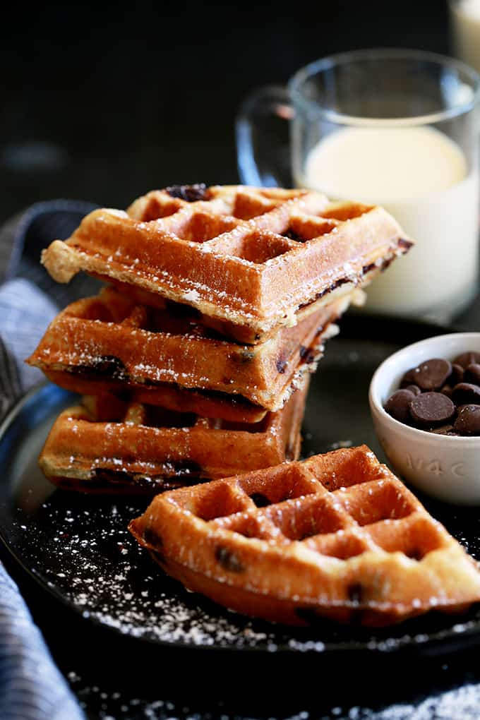 How To Make Chocolate Chip Waffles Recipe