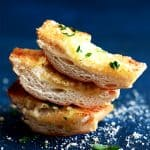 Parmesan Garlic Bread | Melanie Makes