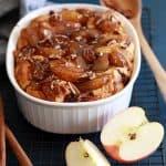 Apple Pie Biscuit Casserole | Melanie Makes