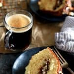 Nutella Sour Cream Coffee Cake | Melanie Makes