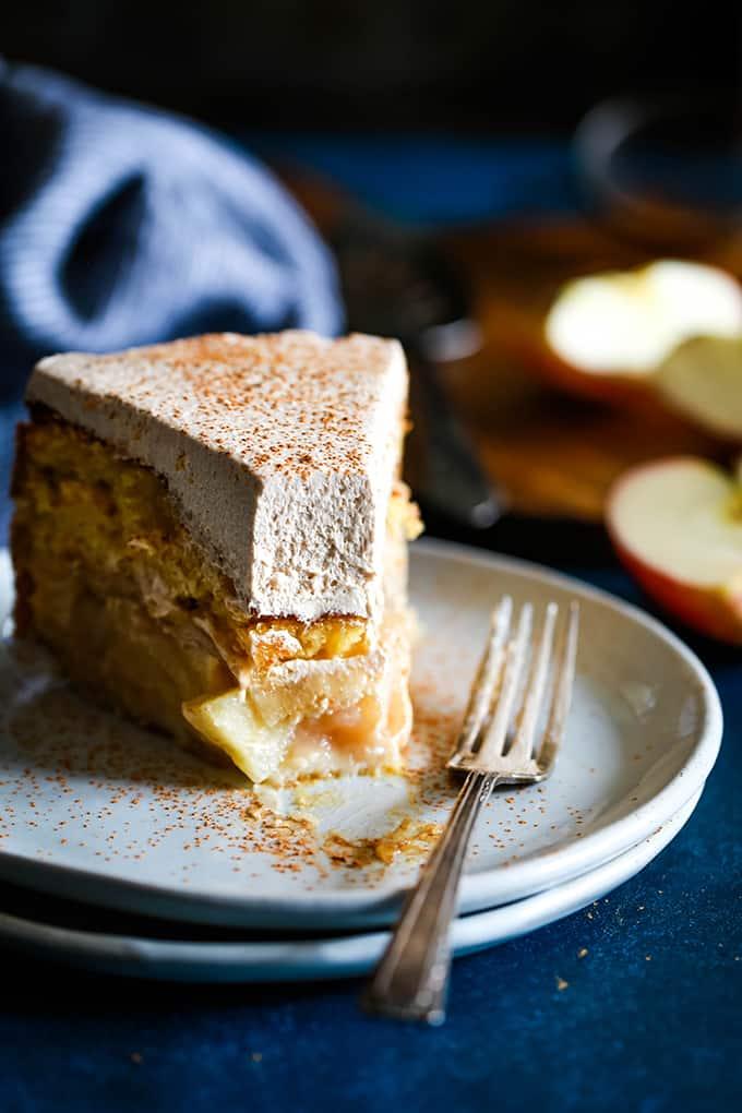 Apple Piecaken (Apple Pie Baked in a Cake) - Melanie Makes