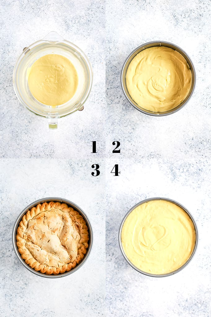 How to Prepare Apple Piecaken, steps 1-4.