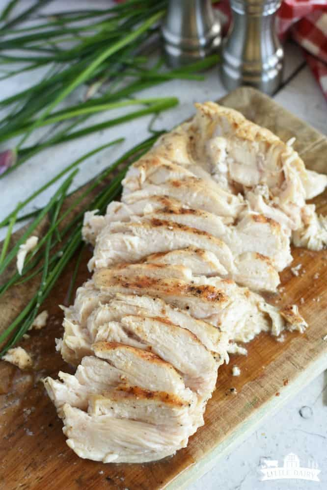 3 Ingredient Grilled Chicken