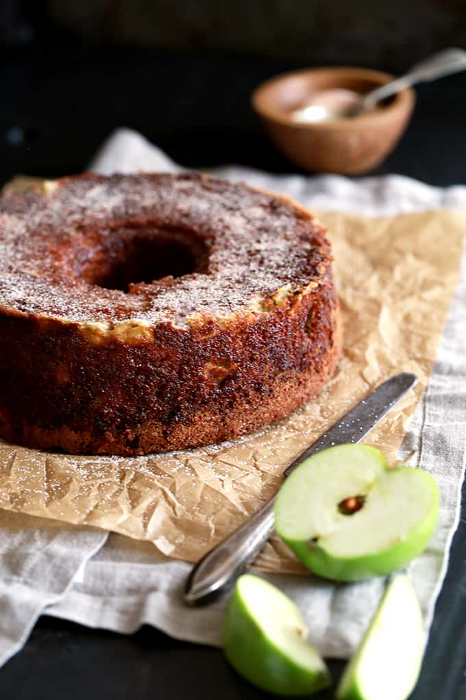 Cinnamon Sugar Apple Cake | Melanie Makes