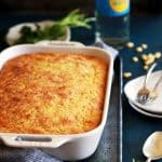 Southwest Green Chile Corn Casserole | Melanie Makes