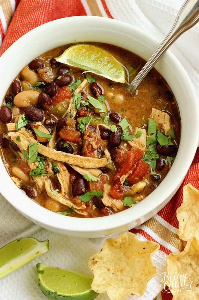 Instant Pot Green Chile Chicken Soup