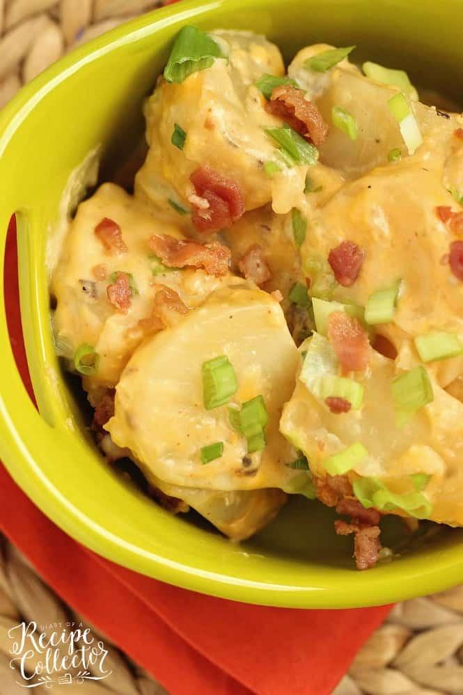 Slow Cooker Loaded Potatoes
